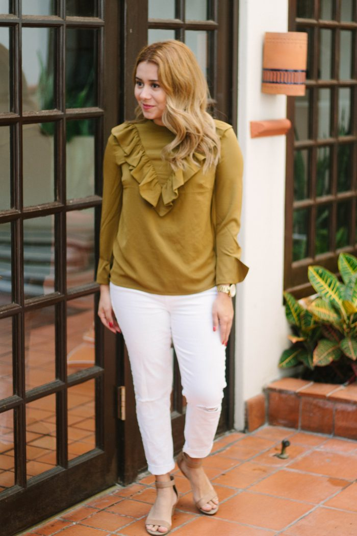 Ruffle Top Outfit