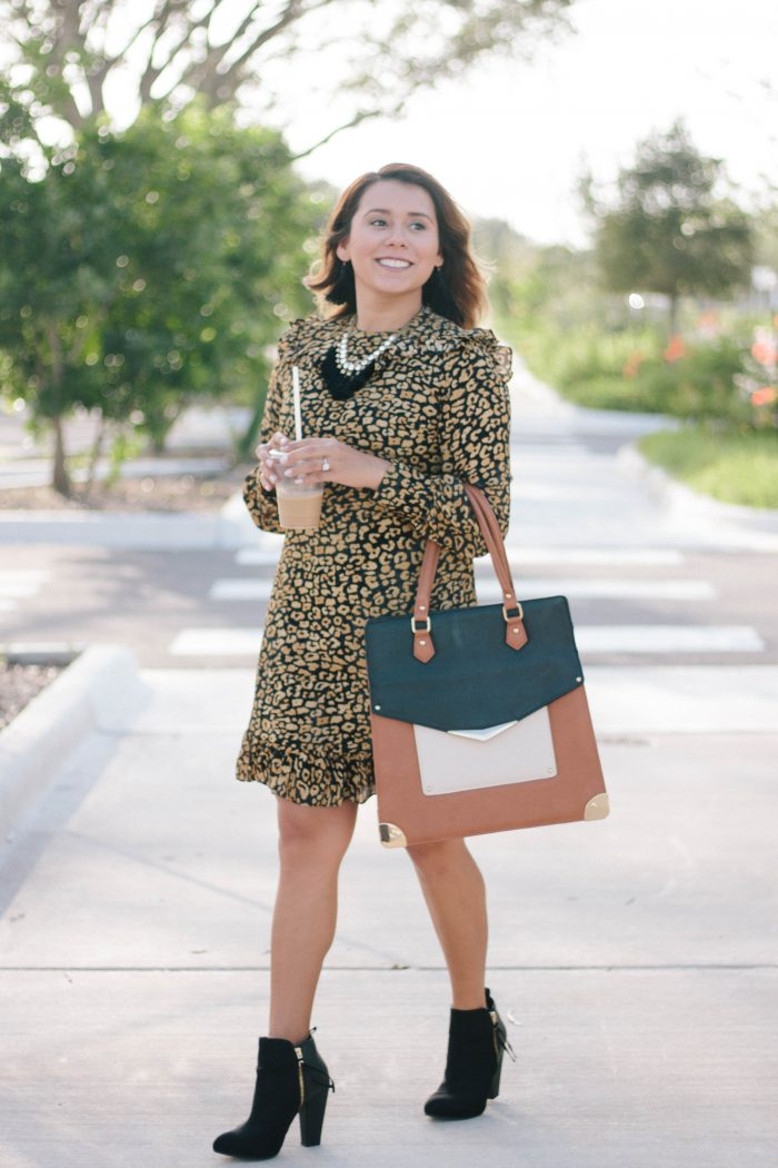 Cheetah Fall Dress
