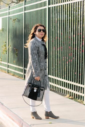 Tweed Coat Outfit