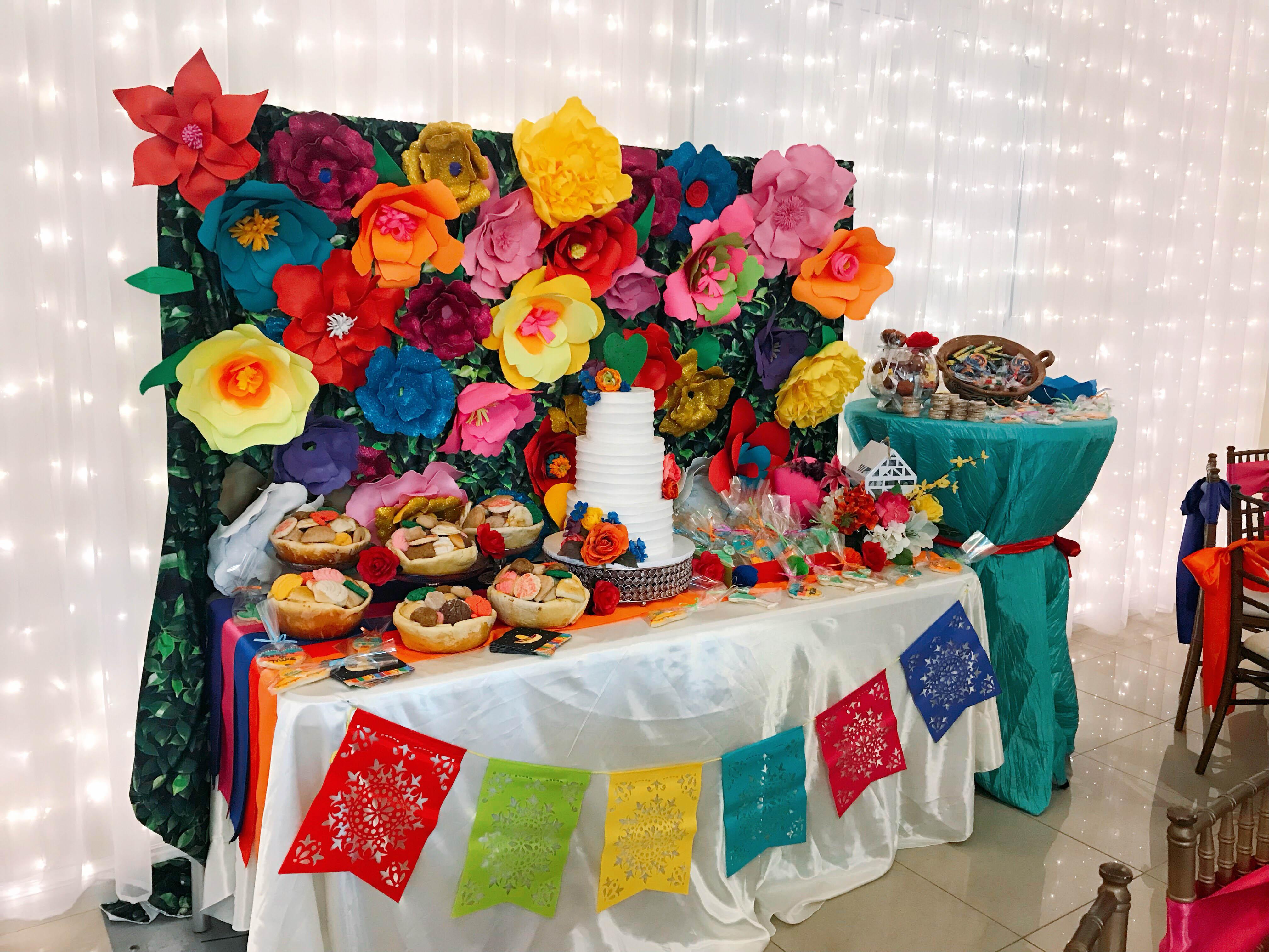 fiesta bridal shower theme