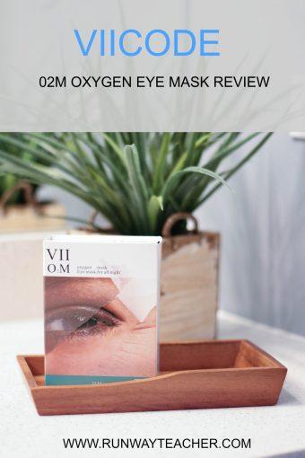 VIICODE O2M Oxygen Eye Mask Review