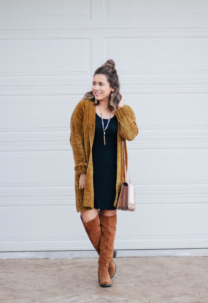 Three Fall Outfits, One Dress