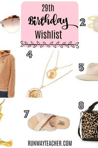 29th Birthday Wishlist and Changes with Age
