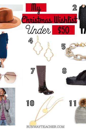 Christmas Wish List Under $50