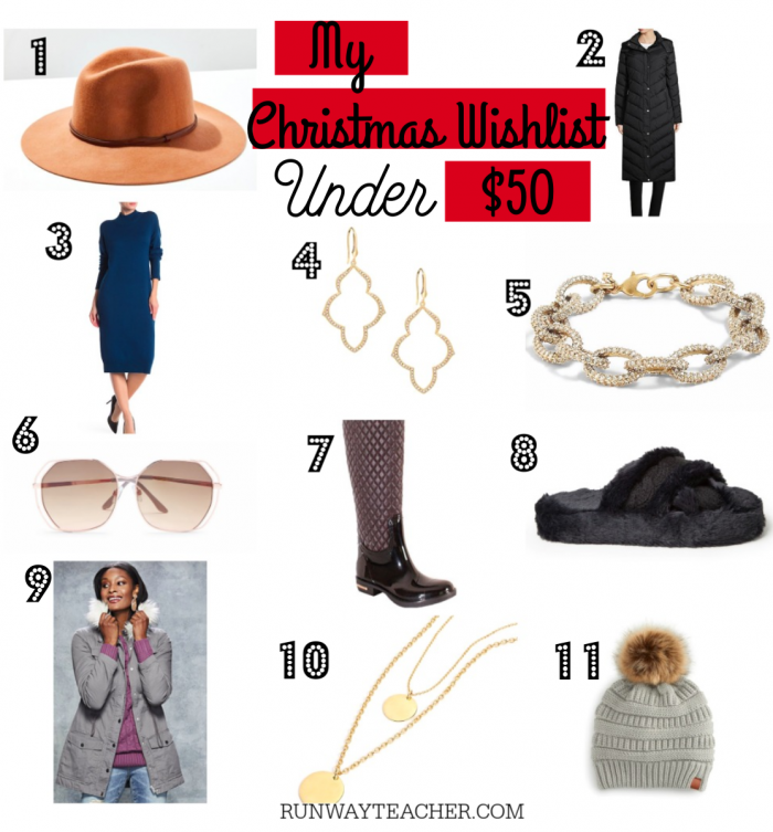 Christmas Wish List Under $50