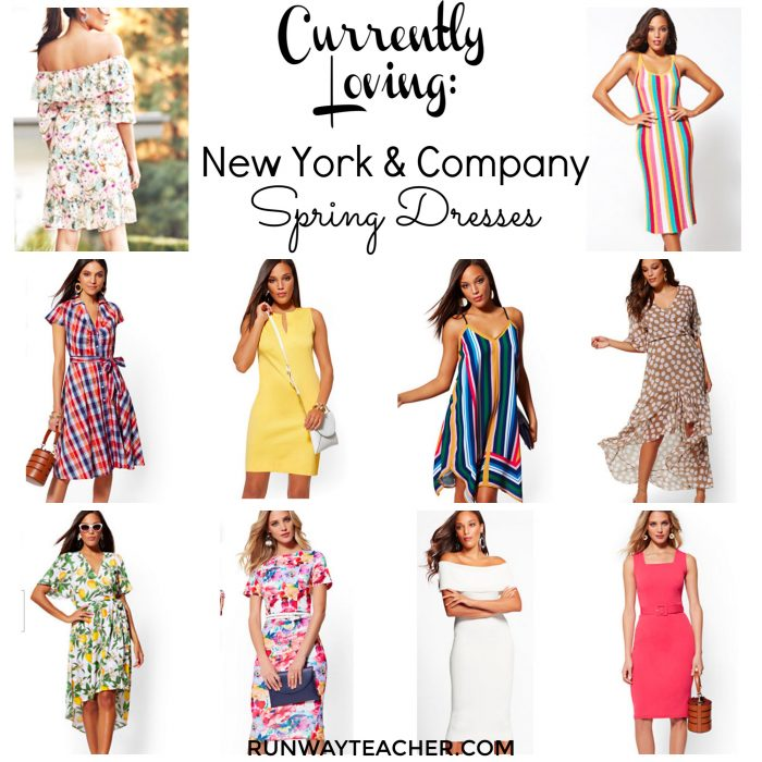 Currently Loving New York and Company Spring Dresses