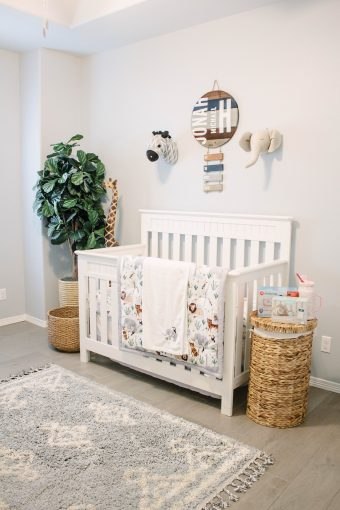 Baby Jonah's Neutral Nursery Reveal