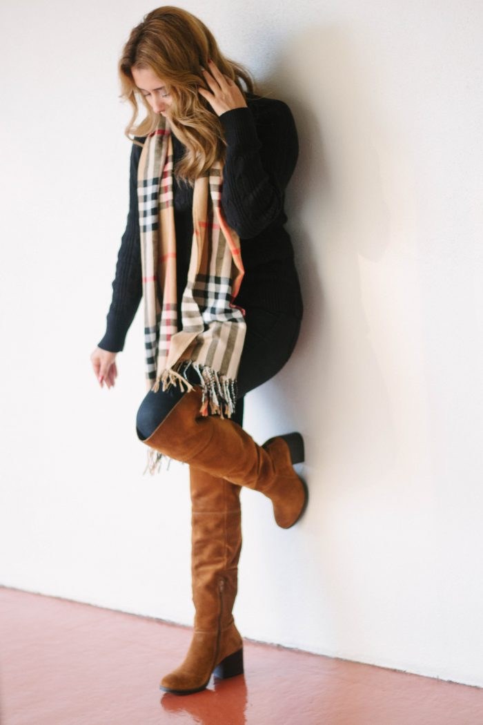 Over the Knee Boots for Petite Women + OTK under $100