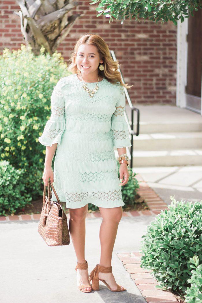 The Lace Shift Dress