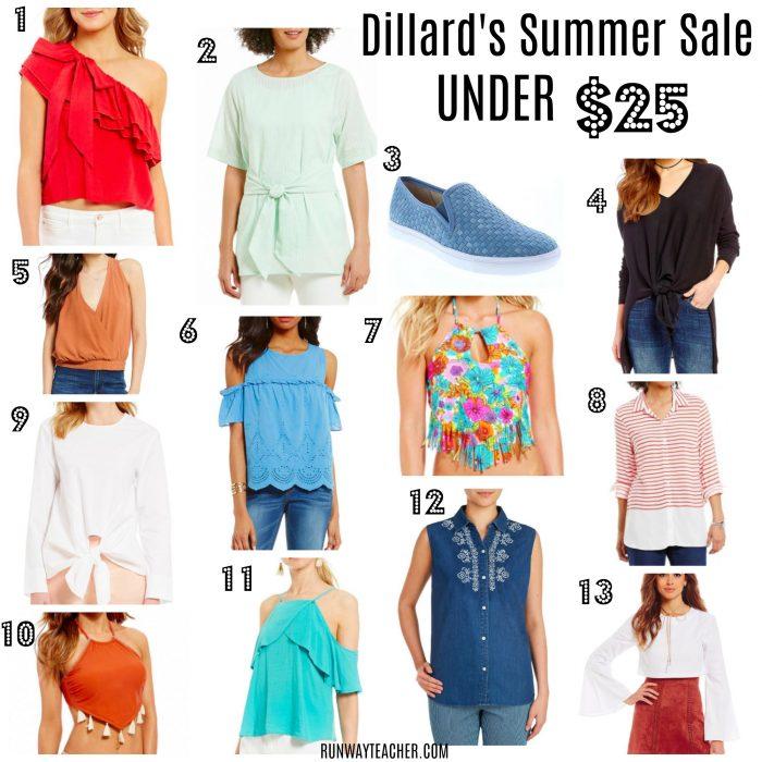 Dillard's Summer Sale under $25