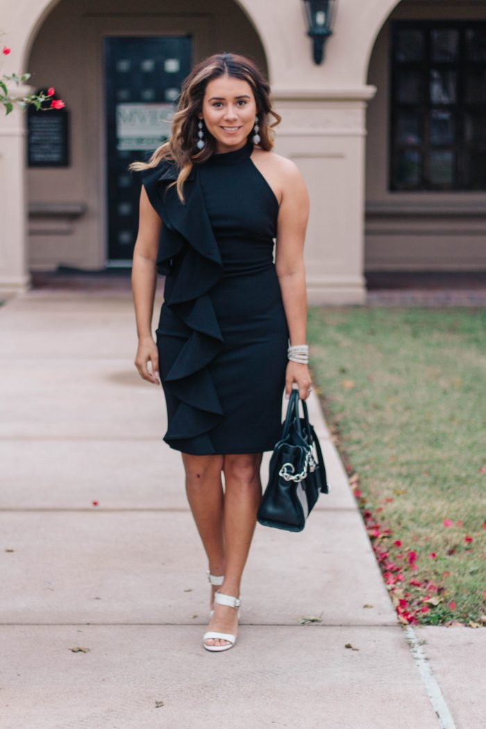 The Little Black Ruffle Dress + 2017 Changes