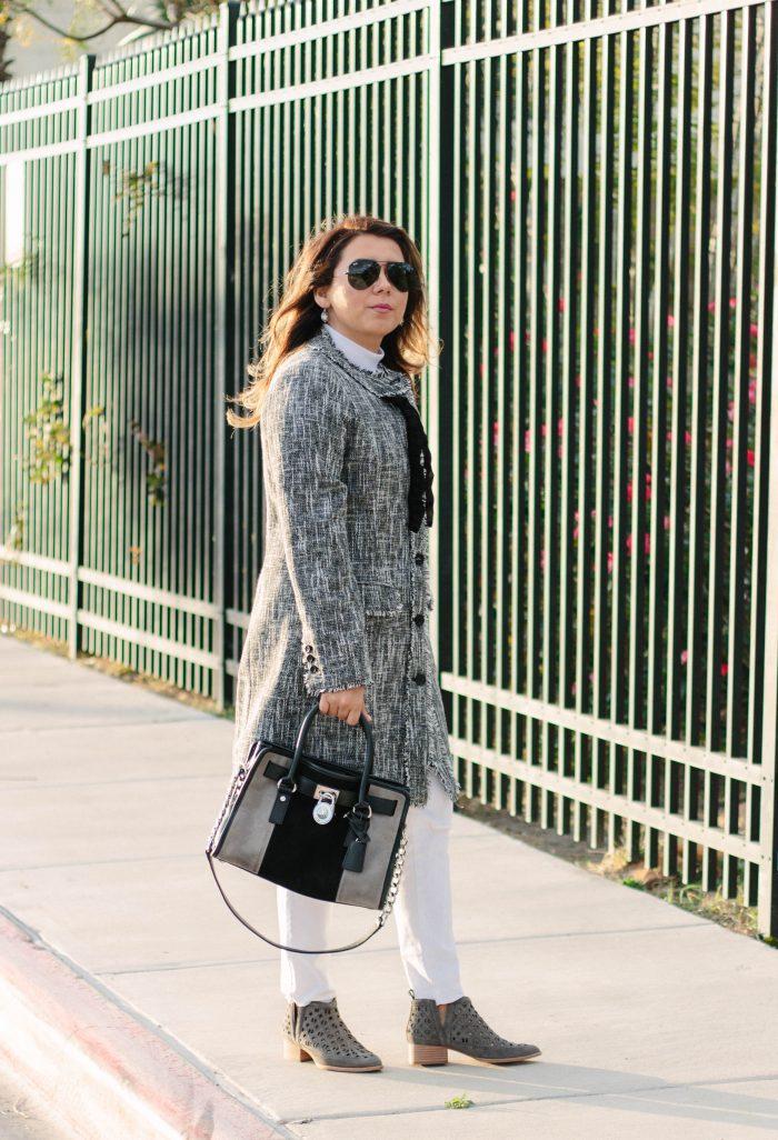 Tweed Coat Outfit