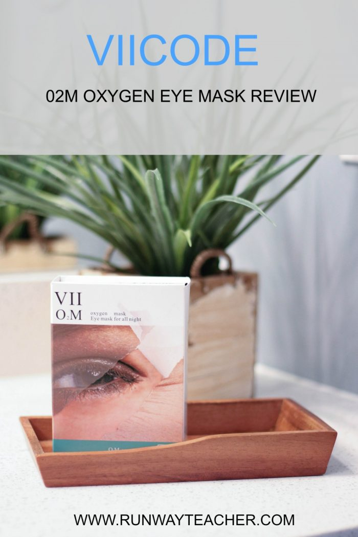 VIICODE O2M Oxygen Eye Mask Review