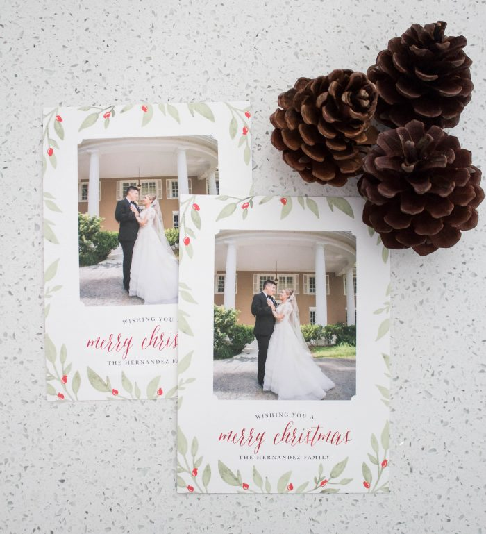2018 Holiday Picture Cards with Basic Invite