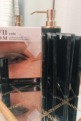 VII CODE Oxygen Eye Mask for Dark Circles