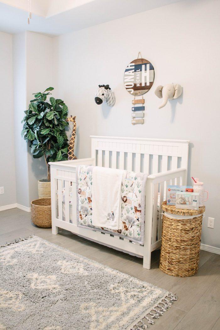 Baby Jonah's Neutral Nursery Reveal